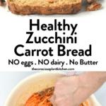 Healthy Zucchini Carrot Bread