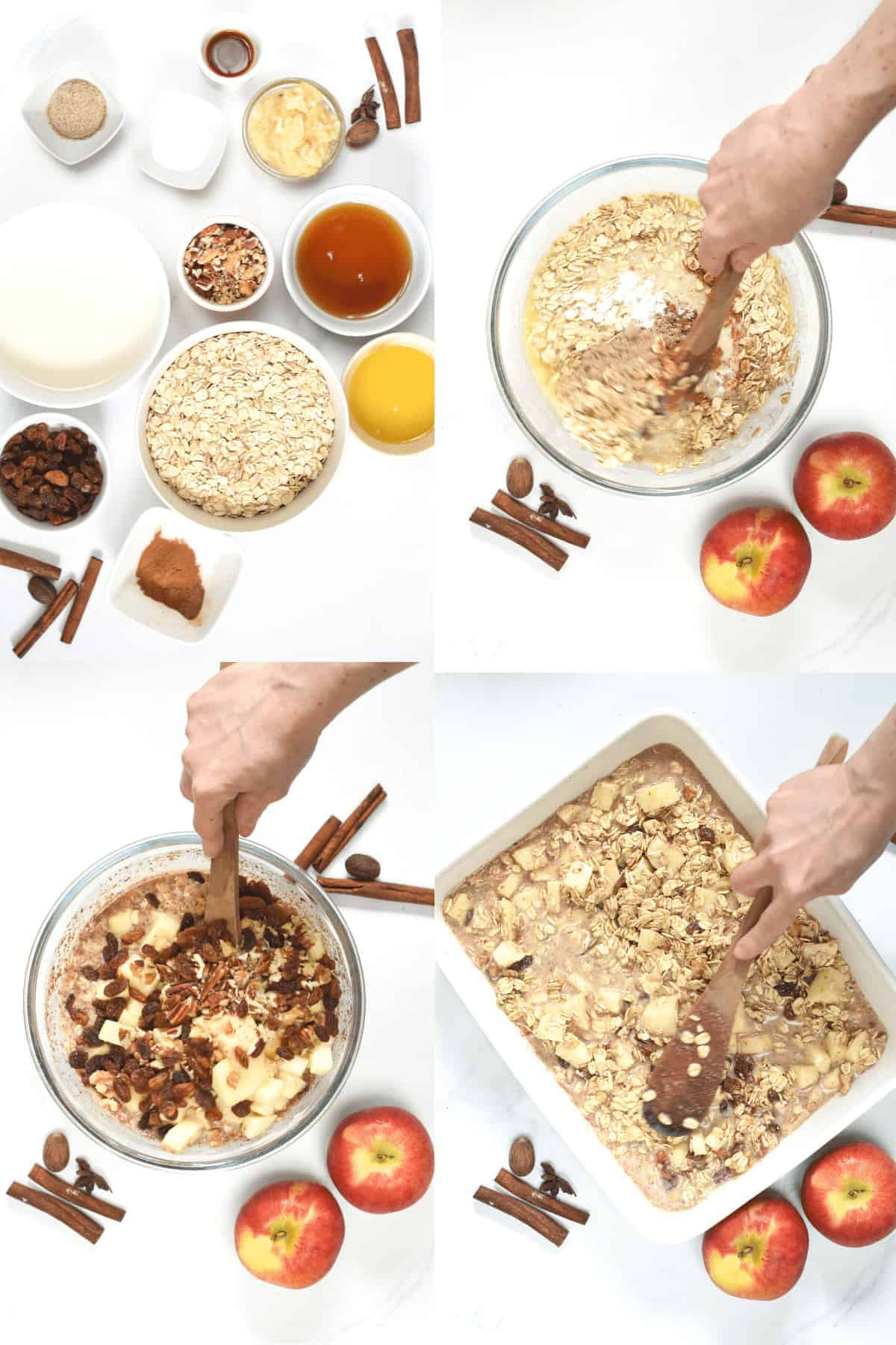 How to make Baked Apple Oatmeal