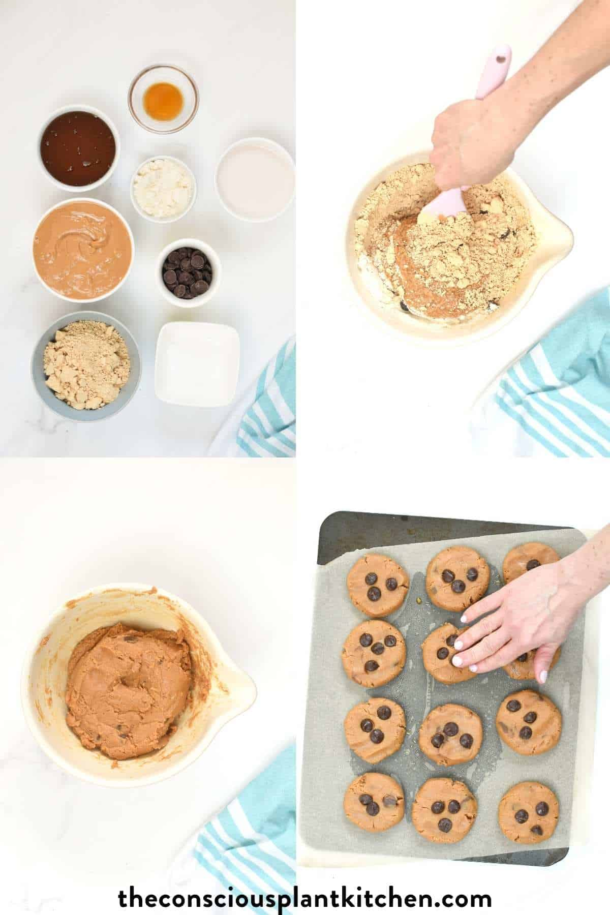 How to make Protein Chocolate Chip Cookies