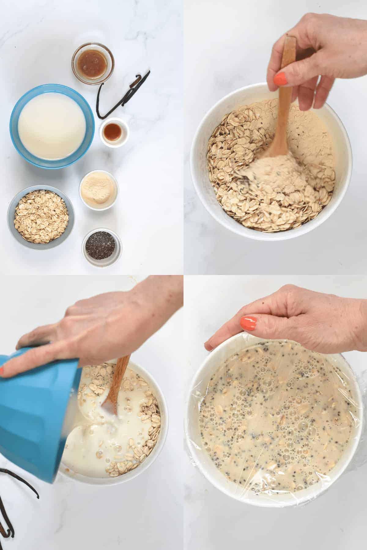 How to make Vanilla Overnight Oats