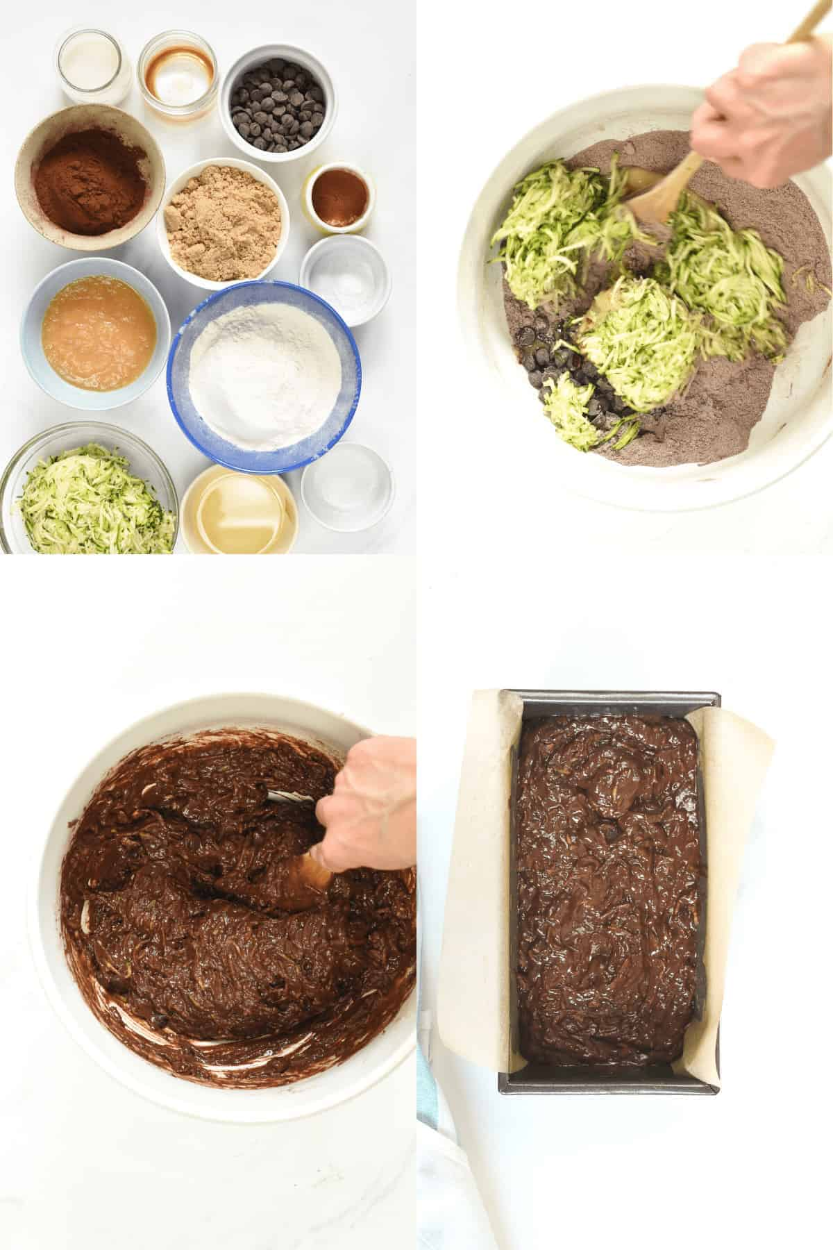 How to make death by CHOCOLATE ZUCCHINI BREAD
