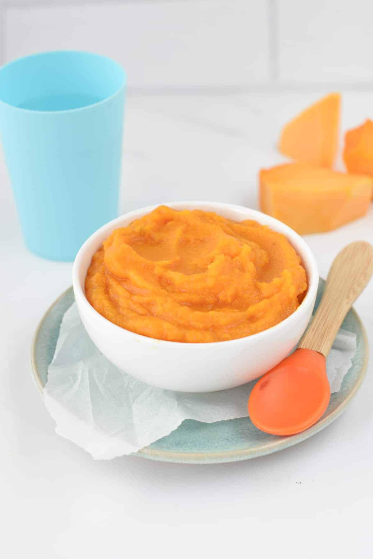 How to make pumpkin puree For babies