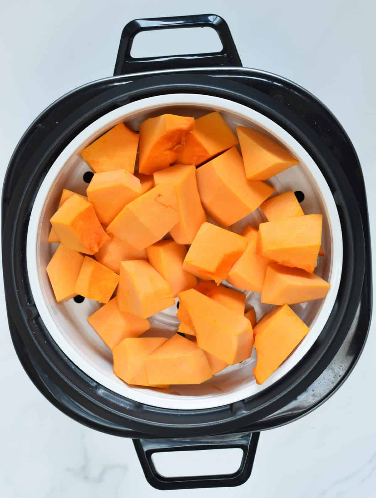 How to steam pumpkin