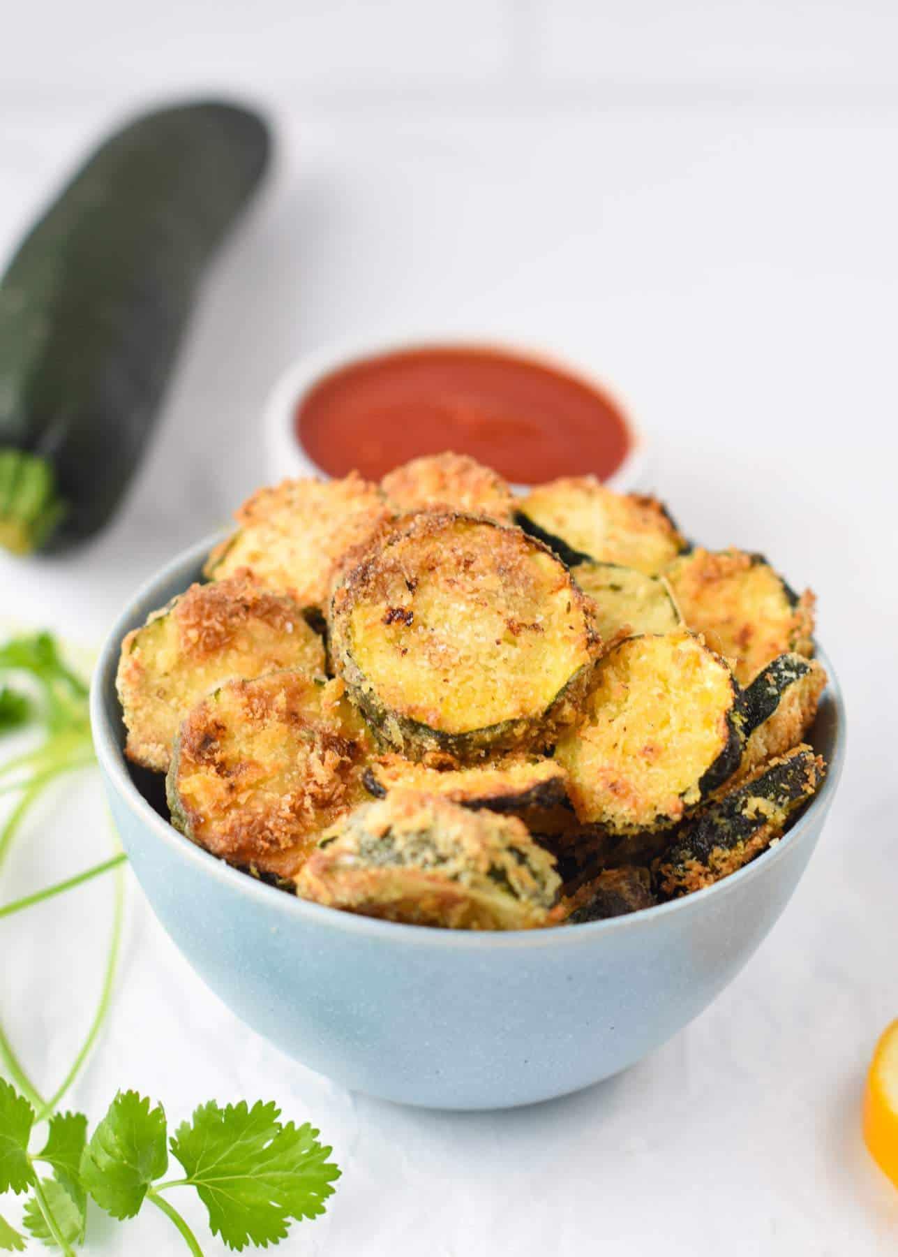 The Best Air Fryer Zucchini Chips Recipe