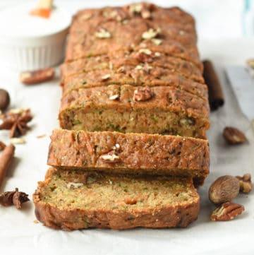The Best Zucchini Carrot Bread