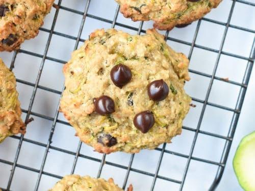 Zucchini Chocolate Chips Cookies