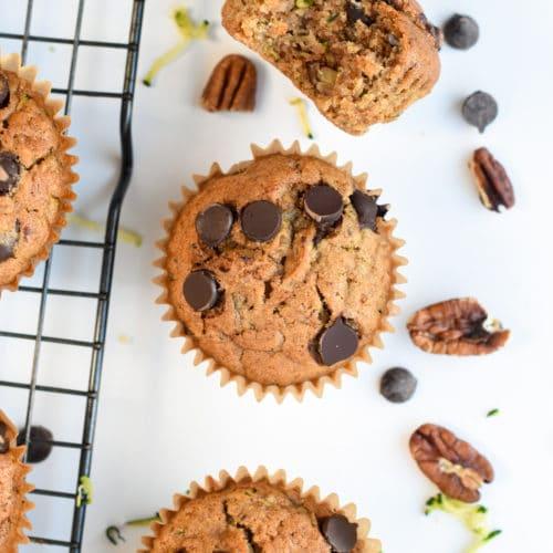 Zucchini MuffinsZucchini Muffins