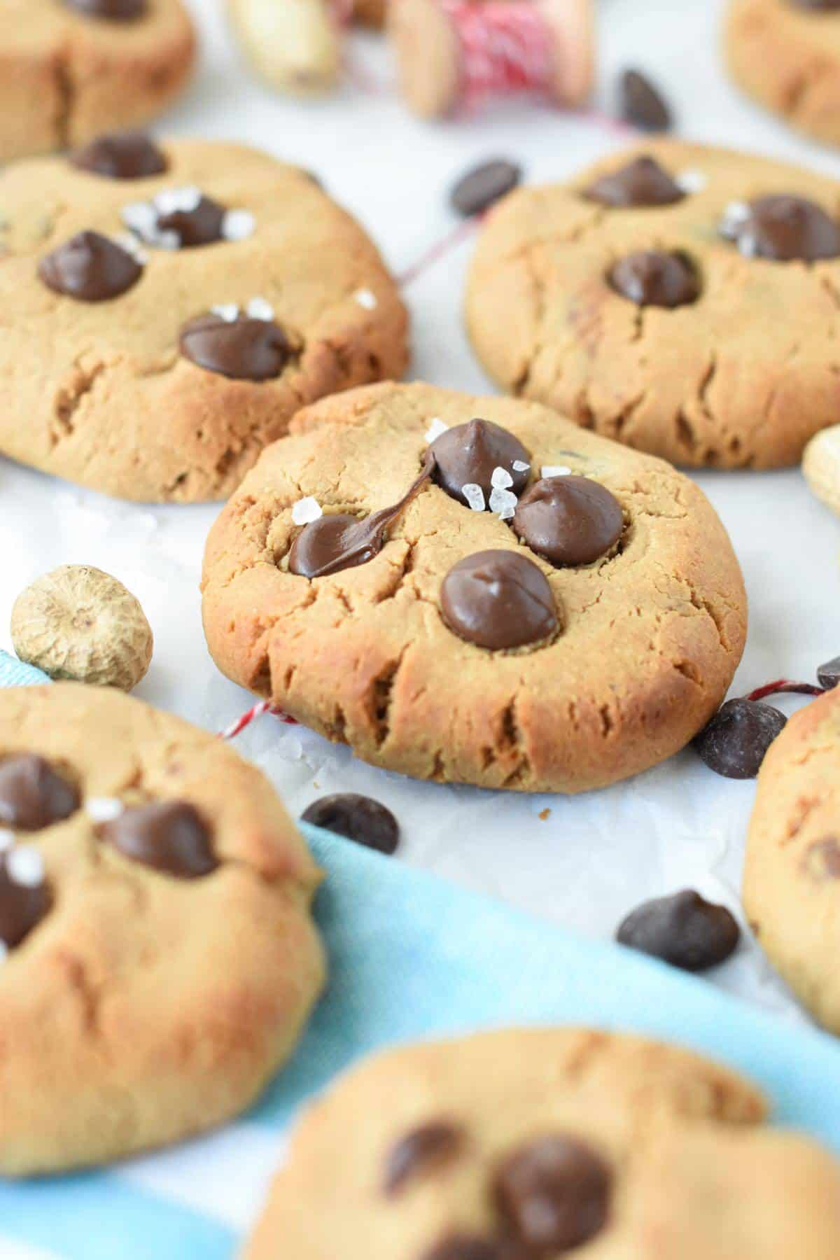protein powder chocolate chip cookies
