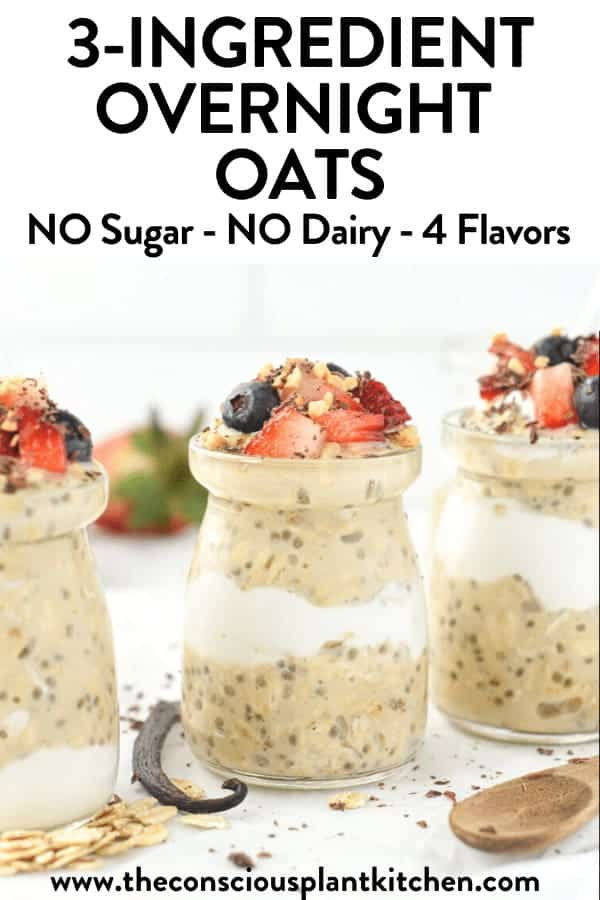 3-INGREDIENTS OVERNIGHT OATS