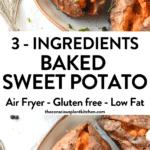 Air Fryer Baked Sweet Potato (1)ed Sweet Potato (1)