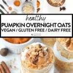 Pumpkin Pie Overnight Oats