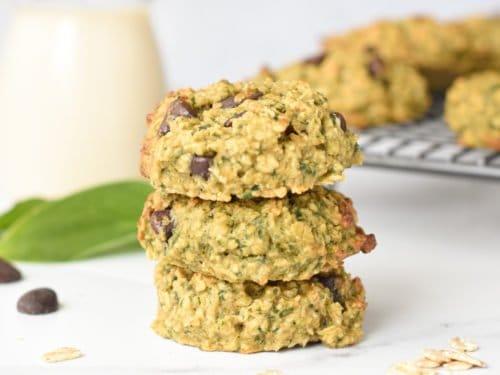 Green Monster Cookies