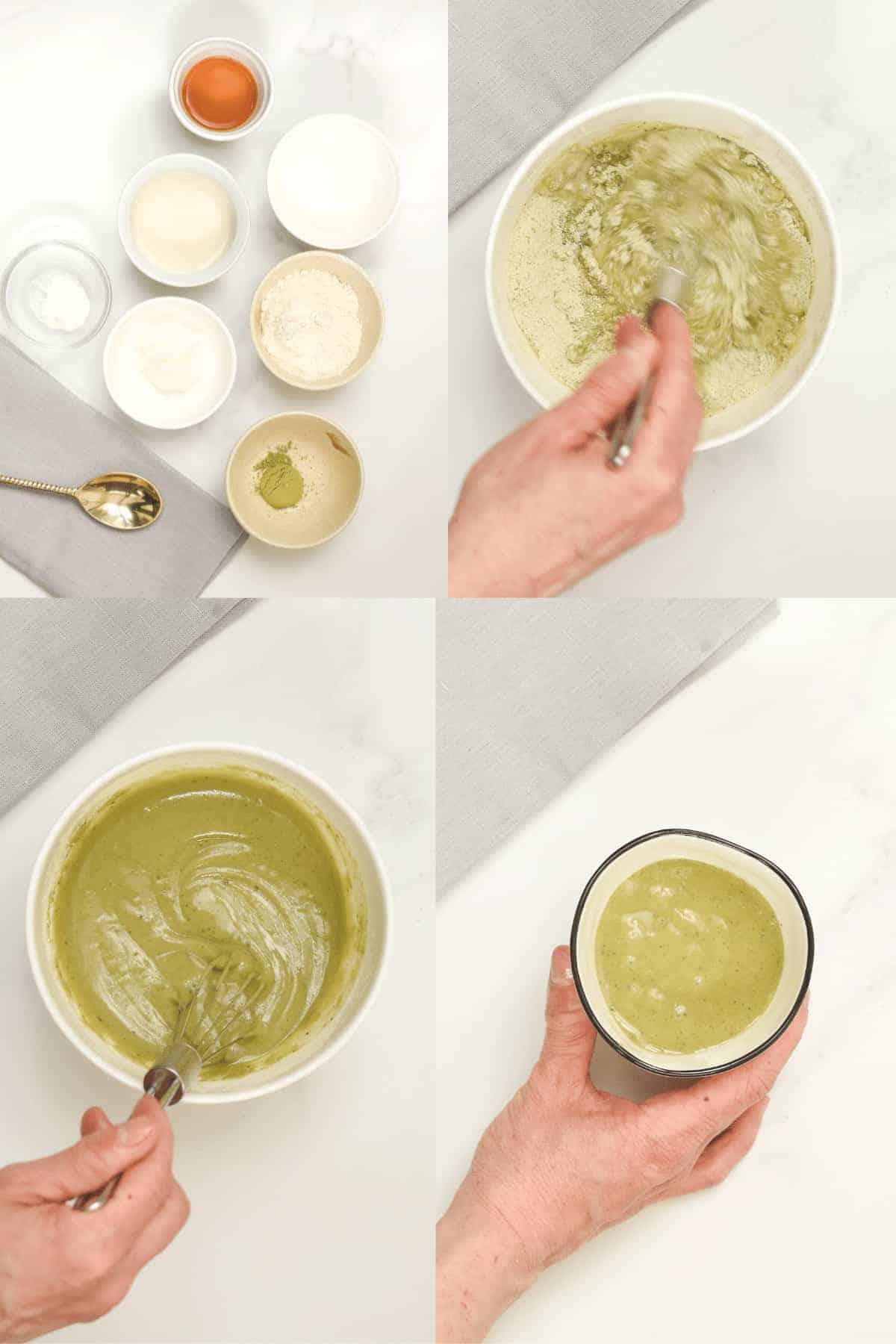How to make Matcha Mug Cake